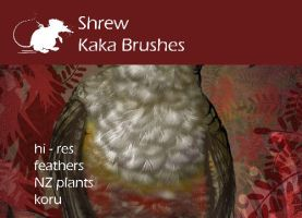 Shrew Kaka Brushes by ArtyShrew