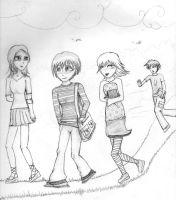 the walk home by toastles