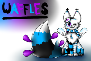 Waffles teh cat! by theanimemaster2