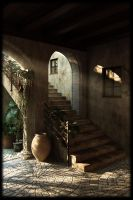 Morning Stairs by ncjsmith