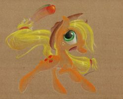 Apple Kickin' Horse by getchanoodlewet