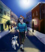 The Adventures Of Tintin by Gorseheart