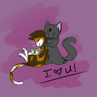 Art for Others : Cursey loves Patchy by GeneralPanic