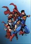 Superman-evolution by rtterry3225