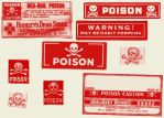 Poison Labels by brainwreck