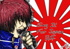 Sing It For Japan by SlicedBerry-Pro