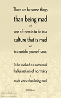 Consensual hallucination of normalcy.. by rationalhub