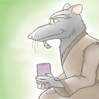 Splinter's Quiet Time by Fuwa2-Kyara