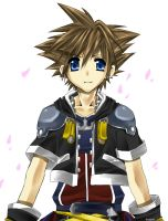 KH2 - Sora by neneno