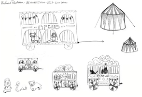 The Circus is Coming - Sketches by beyourpet