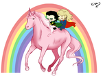 In which Thor and Loki go on an Adventure by Kerryopia