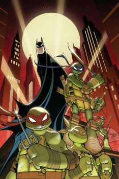 Batman TMNT Adventures Cover 01 by Red-J