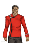 Yesterday's Enterprise TWOK Uniform by Michael-McDonnell
