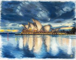 Sydney Opera House by Roskvape