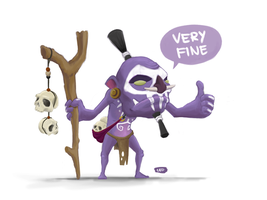 Witch Doctor by cedalcalde