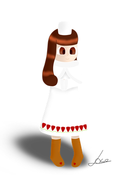 Cocoa Cookie (Cookie Run) by 0RedMist0