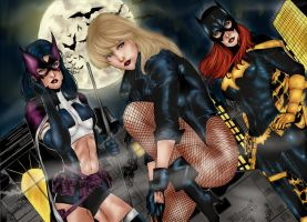 The Birds of Prey by PsychedelicHeroin