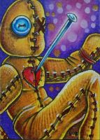 ATC: 'Slumped Voodoo Doll' by catbones