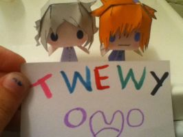 IN HONOR OF TWEWY by Xantheonly567
