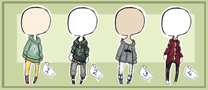 Outfits for your OCS (points)  CLOSED by Voodoo-Elf