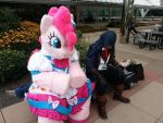 Blending in at BronyCon by farondk
