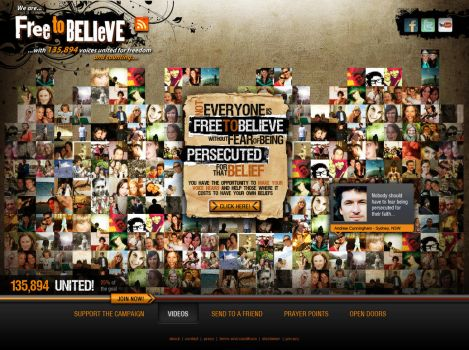 Site for a movement by floydworx