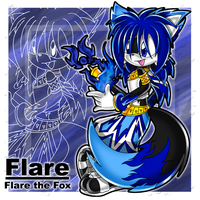 ::Flare the Fox:: by Chibi-Nuffie