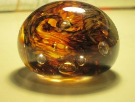 Jurassic Park Glass Paperweight by italktotherain