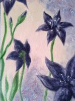 Oil Flowers by Sylf24