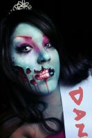 zombie prom queen by ARTSIE-FARTSIE-PAINT