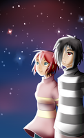 Looking at the Stars by lexiepotter