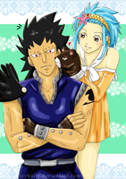 Fairy Tail - Poke Poke by JeyHaily