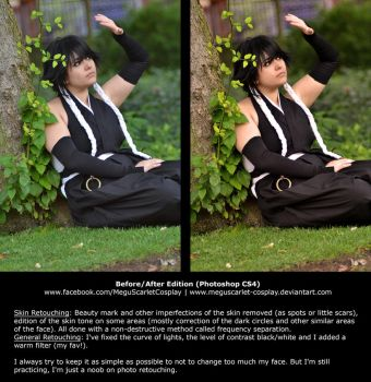 Photo retouching by MeguScarlet-Cosplay