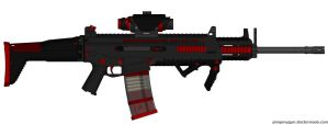 M-S.C.A.C.R-417 Assault Rifle by Lord-DracoDraconis
