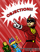 Wicked Red Objection by WizWar100