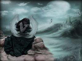 Lonely Angel by Pickyme