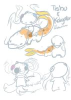 :Sketches for new OCs. by PrePAWSterous