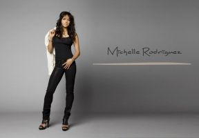 Michelle Rodriguez by ArtSlash13
