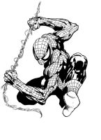 spidey ink by 2numb2relate
