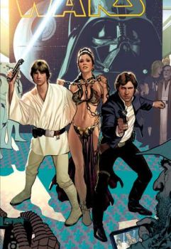 SDCC Star Wars Cover by AdamHughes