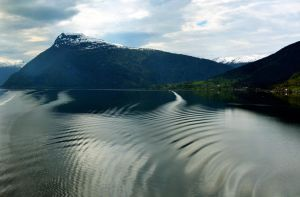 Sailing the fjords to Skjolden 51 by abelamario