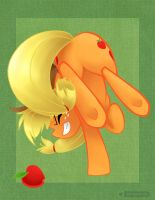 Applejack Rodeo Warmup by gabapple