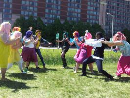 Anime North 2013 - Changling Attack by EZsCosplays