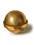 Gold Paint Study by ghauristudio