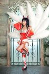 ahri cosplay 2 by pentakill12
