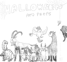 HALLOWEEN AND PEEPS cover by ADYNAMICA