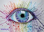 Rainbow Eye by Faeriegem
