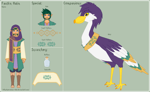 LoZ - Faulkn Reference Sheet by porcelian-doll