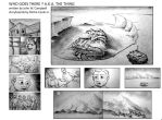Who Goes There ? A.K.A. The Thing Storyboards by RichieCooksJr