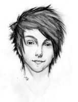 Alex Gaskarth by D-EIS
